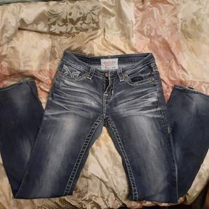 Big star buckle Jeans